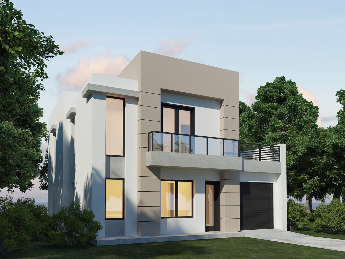 Modern house plans with photos for Design house
