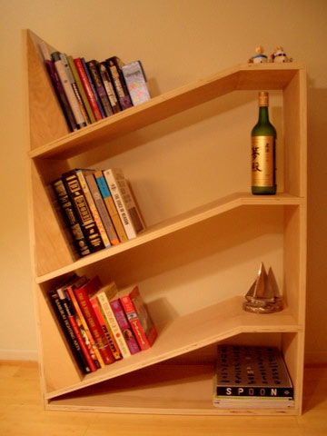 Uncommon Bookshelves And Furniture - Book rack designs for bedroom