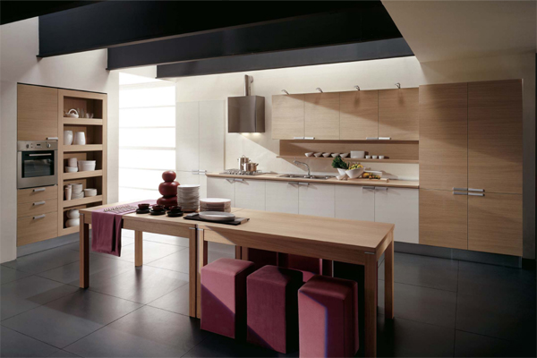 Modern italian style kitchens for Italian modern kitchen design