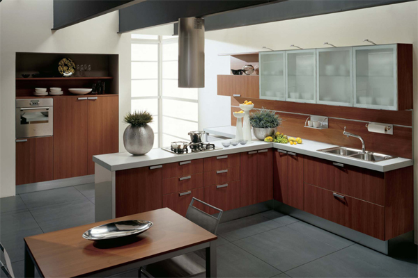 Kitchen Cabinets Contemporary Style