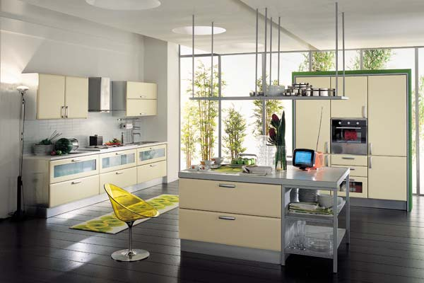 Modern italian style kitchens for Modern kitchen cabinet designs