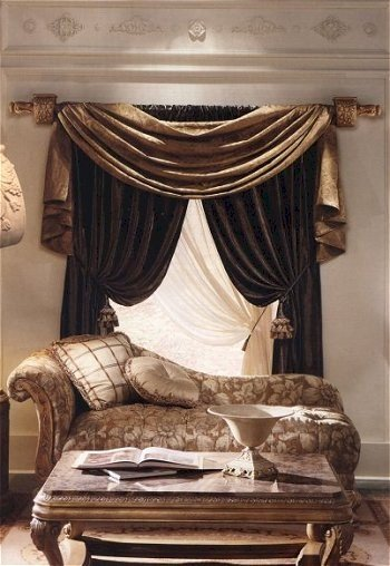 Beautiful curtains bedroom curtains window curtains for Modern living room curtain designs pictures