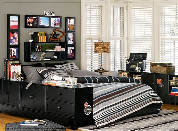 teen room ideas - Boys Room Design Ideas
