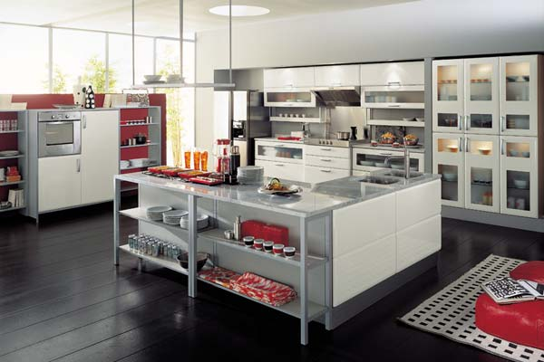 Modern italian style kitchens for Italian style kitchen designs