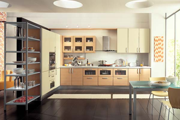 Modern italian style kitchens for Modern kitchen cupboards