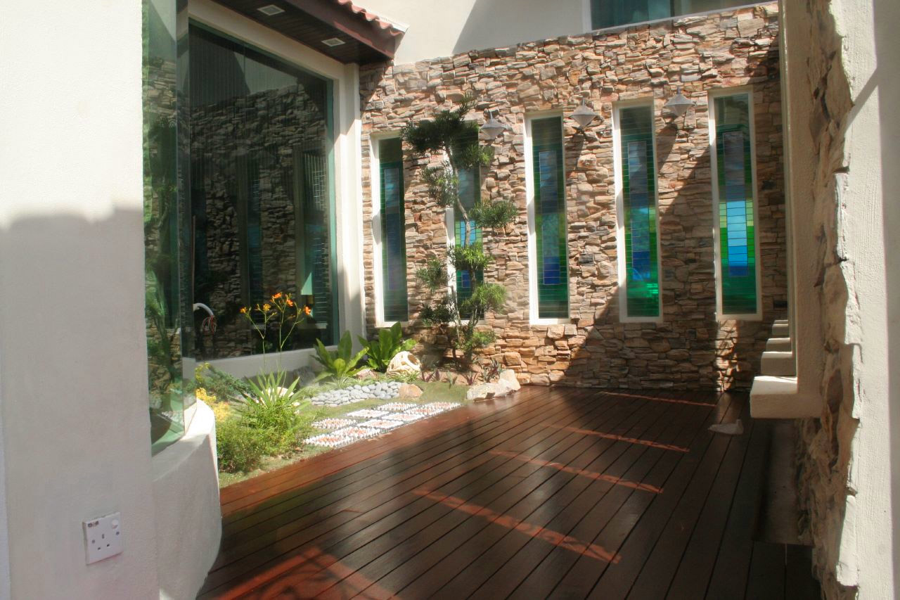 courtyard design homes interior design ideas
