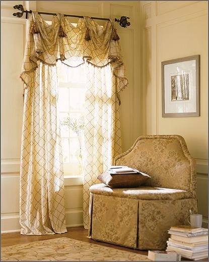 Beautiful curtains bedroom curtains window curtains for Bedroom curtain designs photos