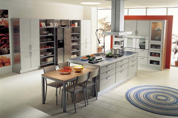 Superb Italian Style Kitchens