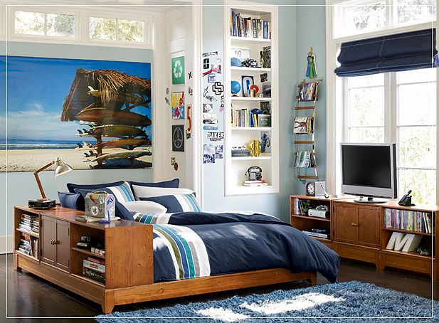 Teen room ideas - Teen boys bedroom decorating ideas ...
