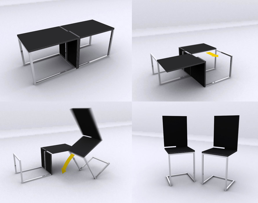 12 extraordinary table designs for Furniture table design examples