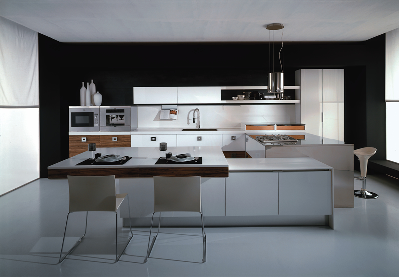 Modern italian style kitchens for Modern kitchen looks