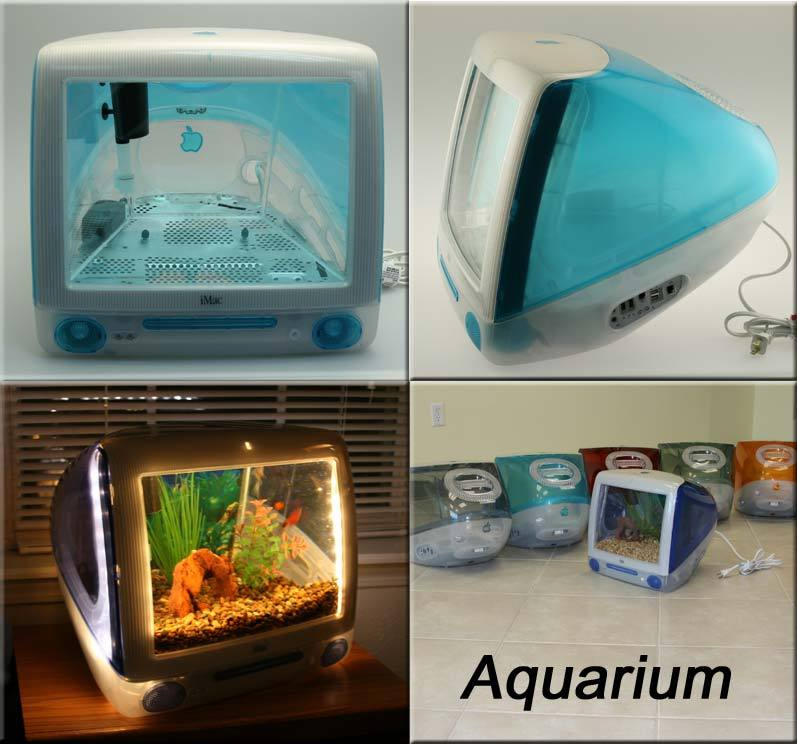 iMac Aquarium from home-designing.com