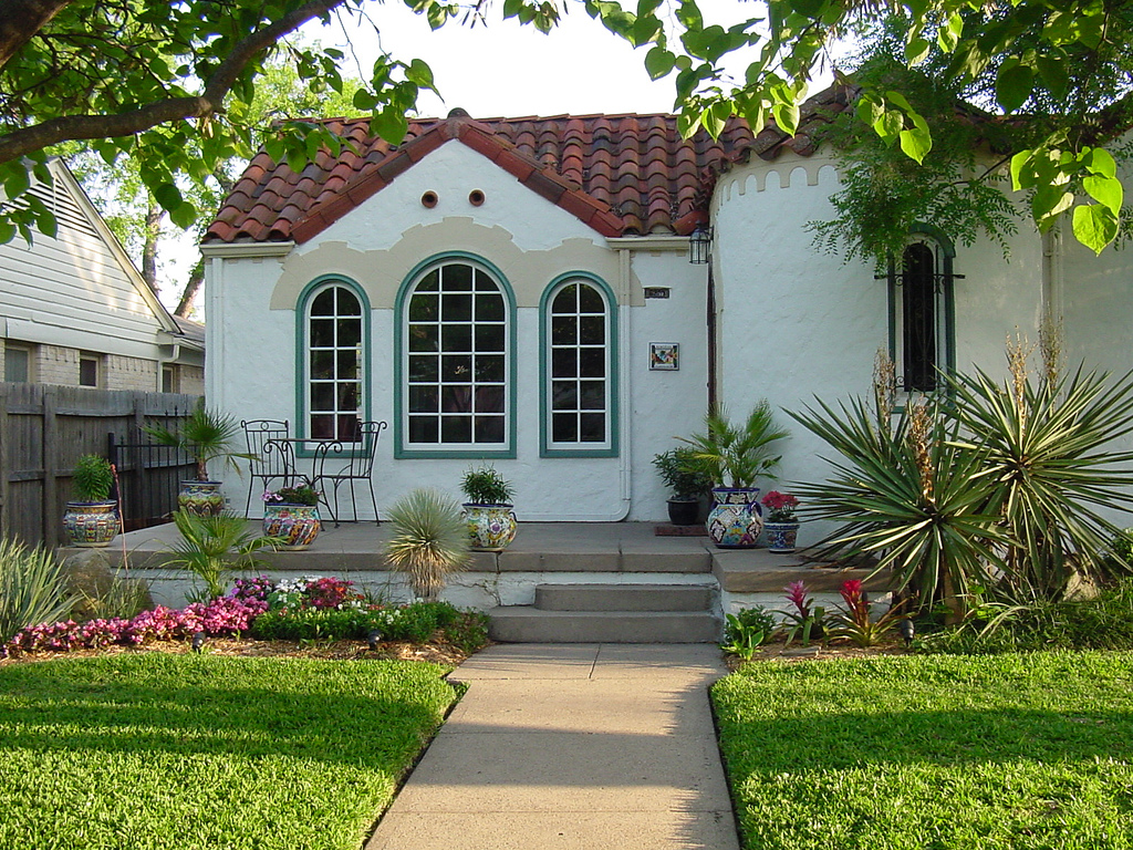 spanish style homes - Garden Home Designs