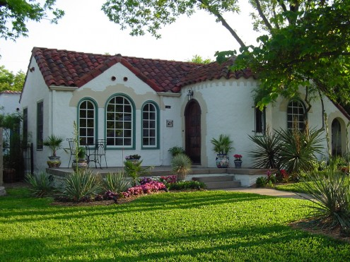 spanish style homes - Style For Home
