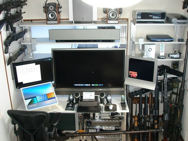 Amazing Home Computer Room Design Ideas 600 x 450 · 114 kB · jpeg
