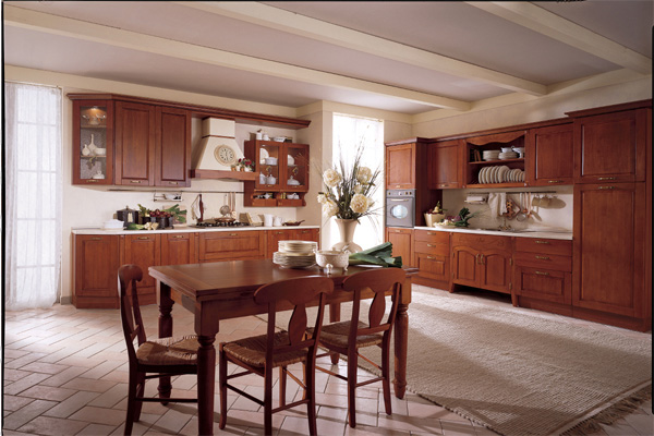 Traditional italian kitchens for Classic kitchen designs photos