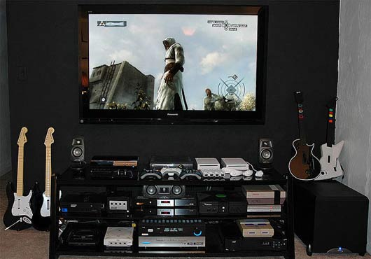 Cool Gamer Bedroom Ideas Of Ultimate Computer Setups Cool Computer Room Design
