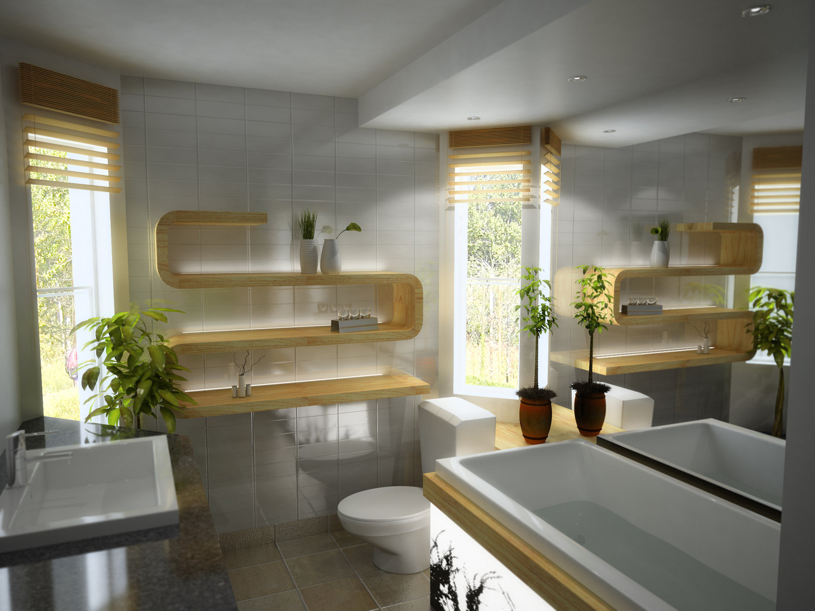 Charmant Bathroom Designs