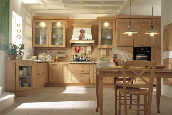 Post with pictures of kitchens traditional medium wood cabinets golden