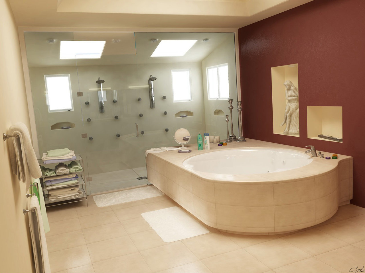 Bathroom designs for couples - Bathroom Designs