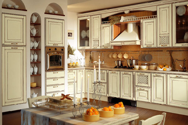 Traditional italian kitchens for Italian kitchen cabinets