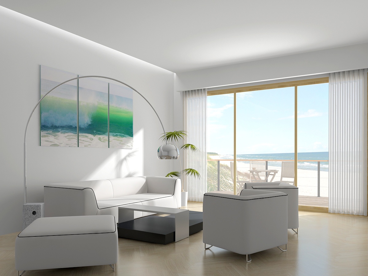 Random living room inspiration for Contemporary beach house interior design