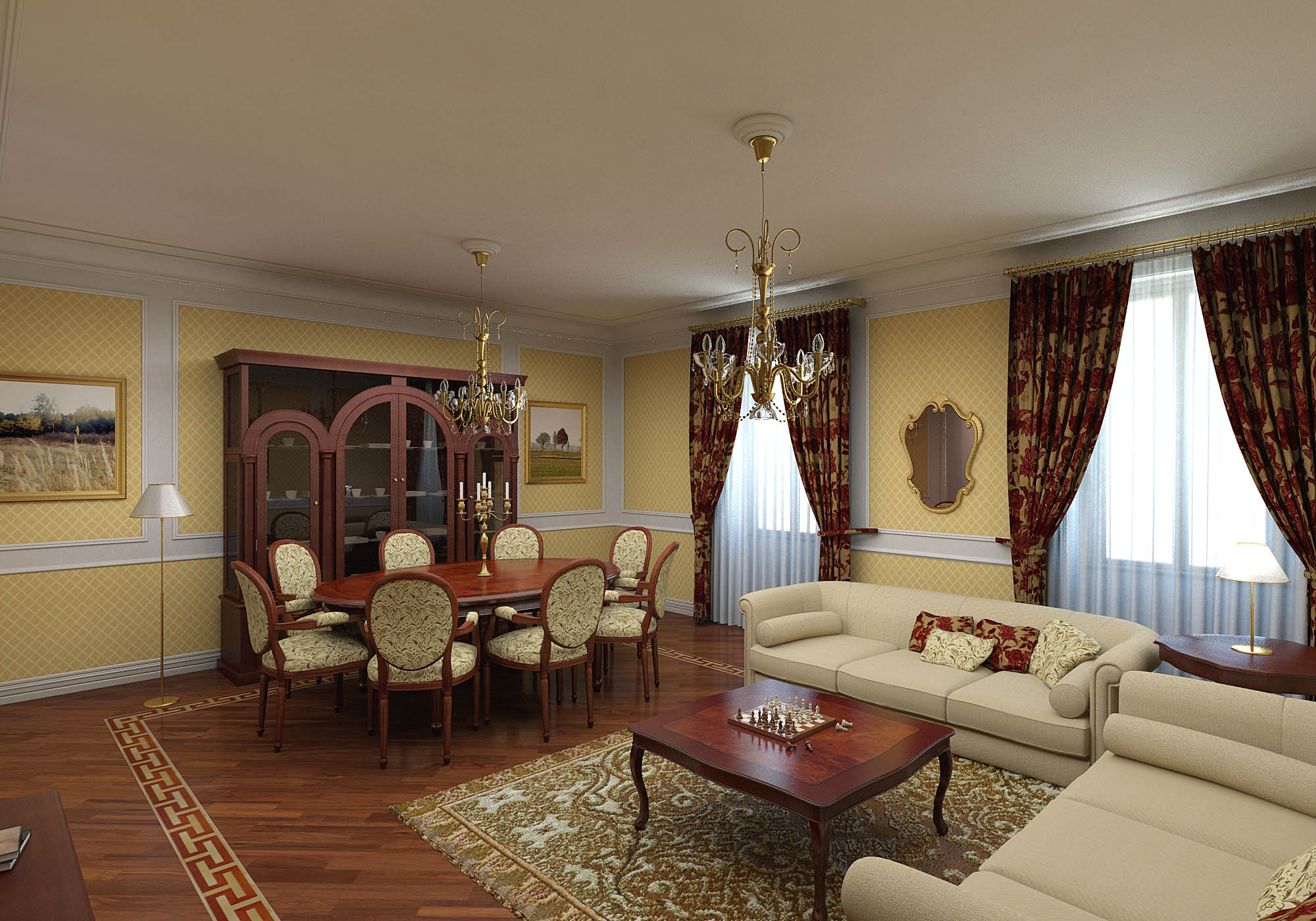 Classic interior design for Classic room design