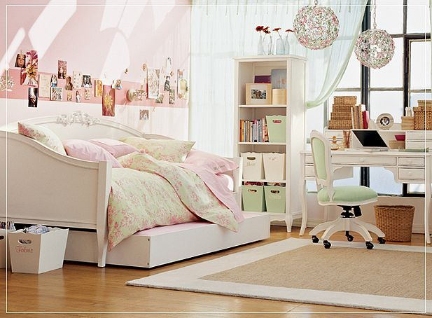 Teen room for girls for Girl bedrooms ideas