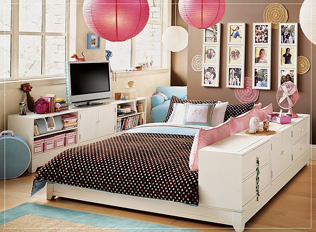 Teen room for girls for Cute teen bedroom designs