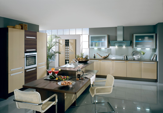 The Modern German Kitchens Sweet Home