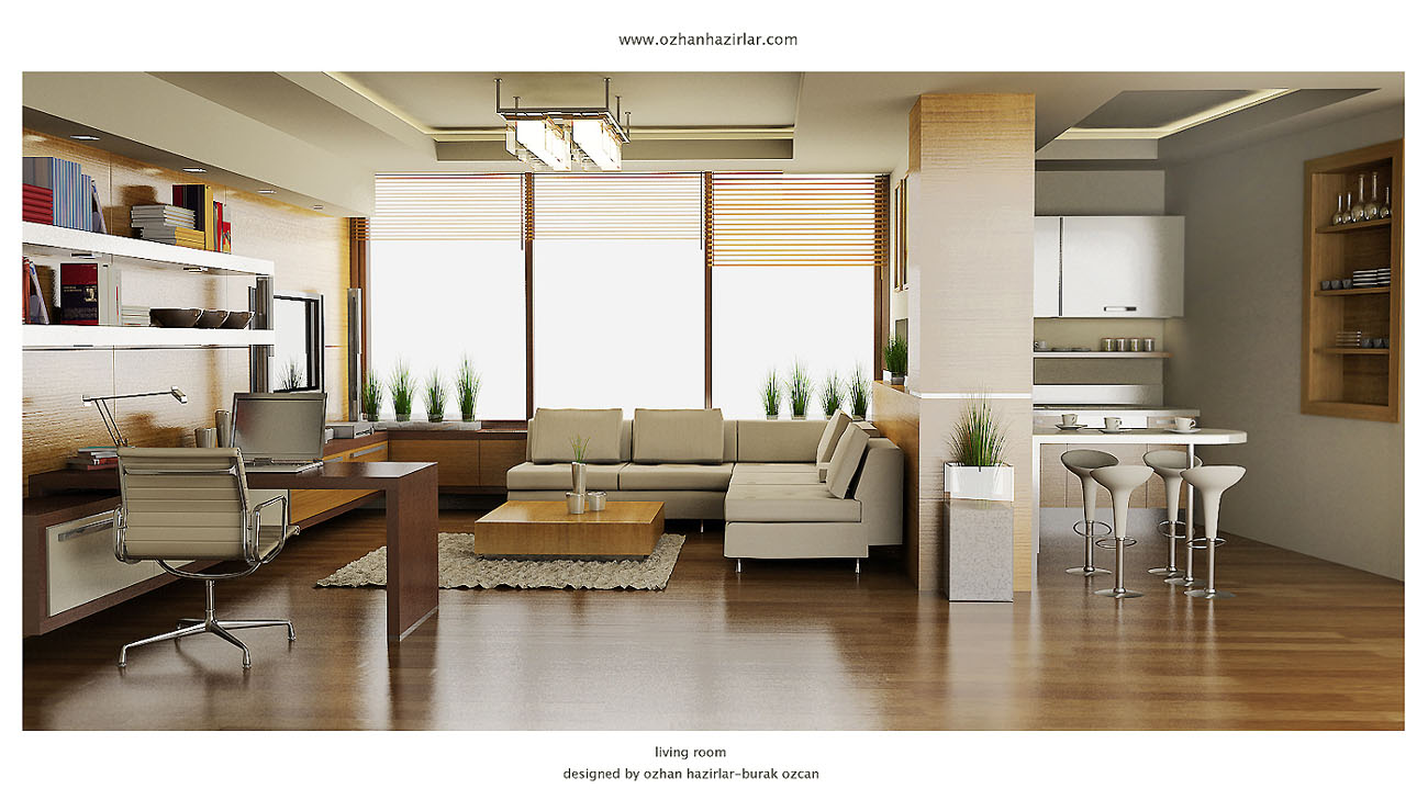 by semsa - Home Design Living Room