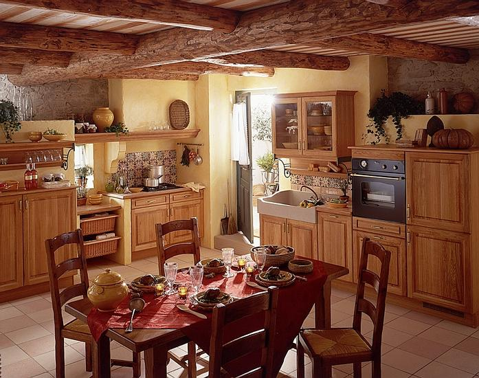 French country kitchens for Italian kitchen pics