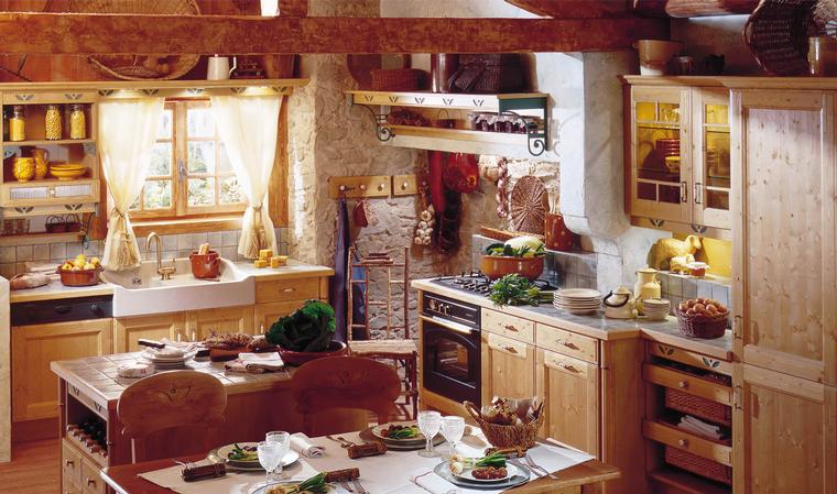 French country kitchens for Old country style kitchen
