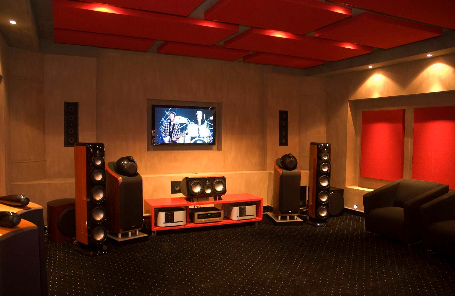 Home Entertainment Spaces - Designing home theater