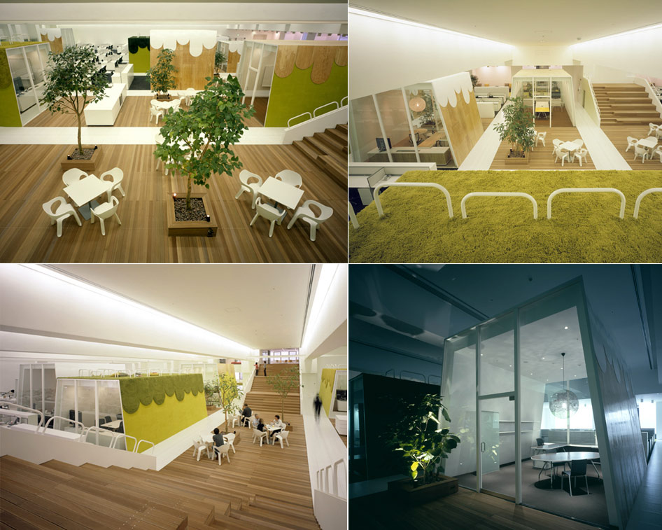 Creative offices amazing workplaces for Interesting office interiors