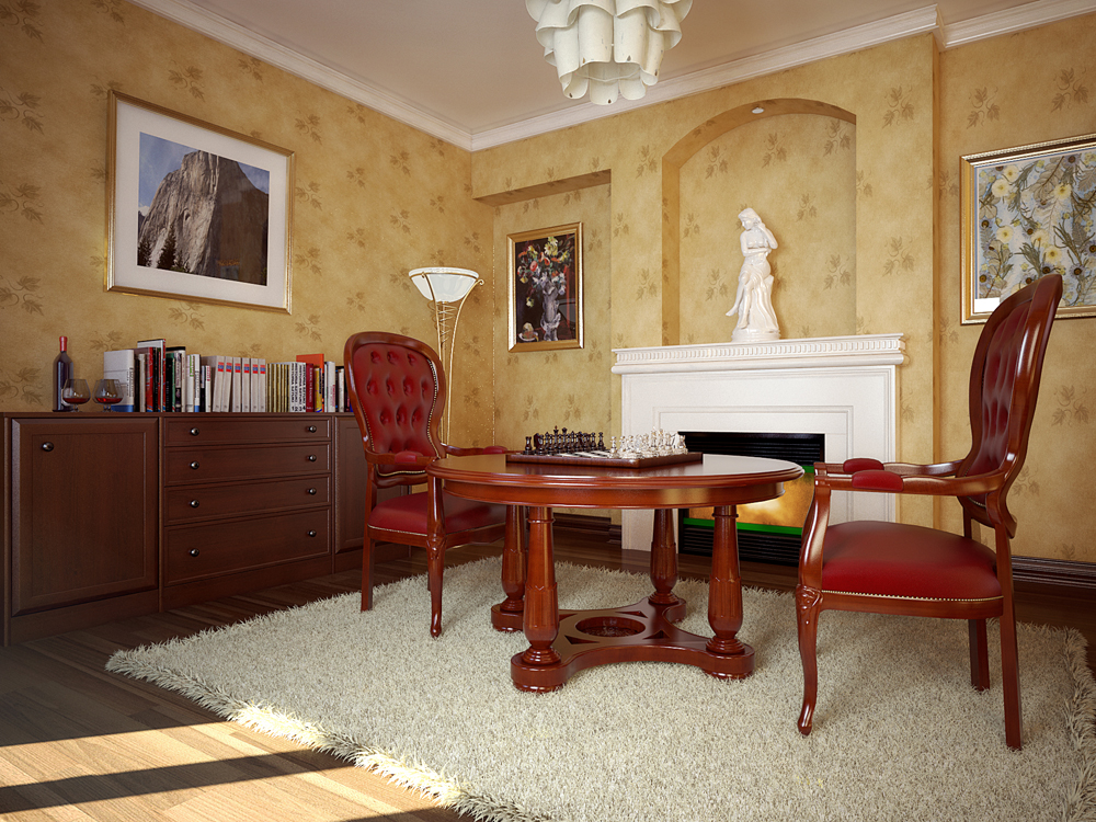 Classic interior design for Classic villa interior design