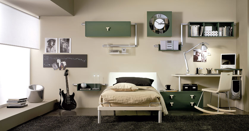 advertisement - Interior Teen Bedroom Design