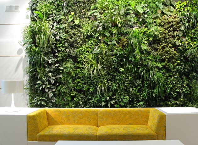 Indoor Garden. Hellgreen Has More To Show In His Collection. He  Incorporates The Vertical Garden Concept Beautifully Into A Cafe In Lisbon: