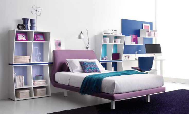 Teen room ideas for Cuartos modernos para jovenes