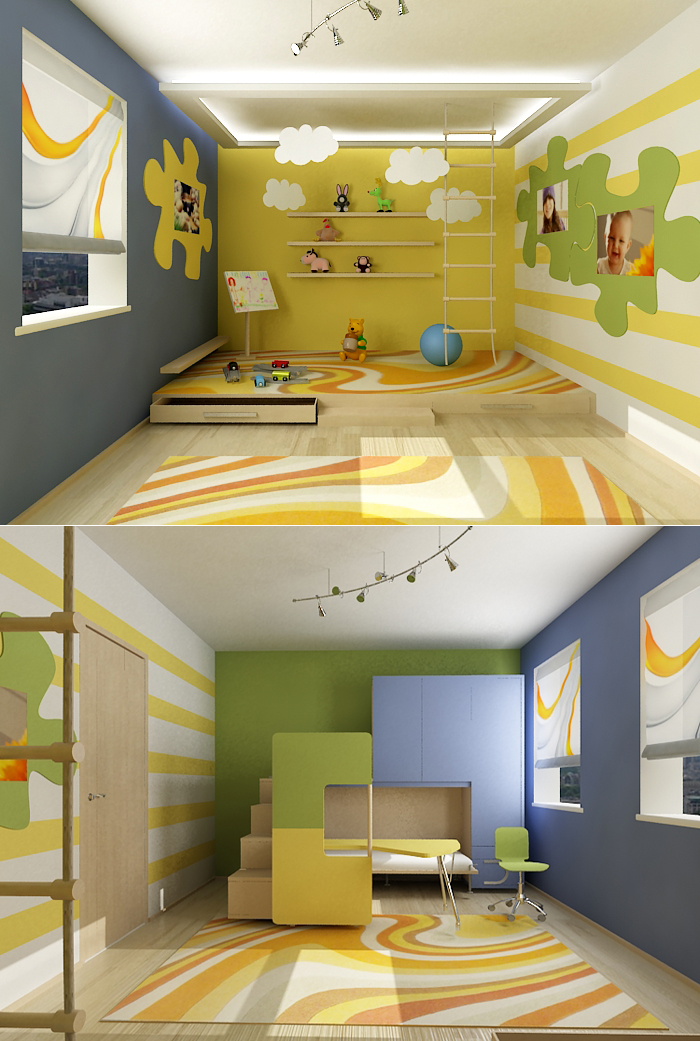 Kids 39 room design ideas for Fun room decor