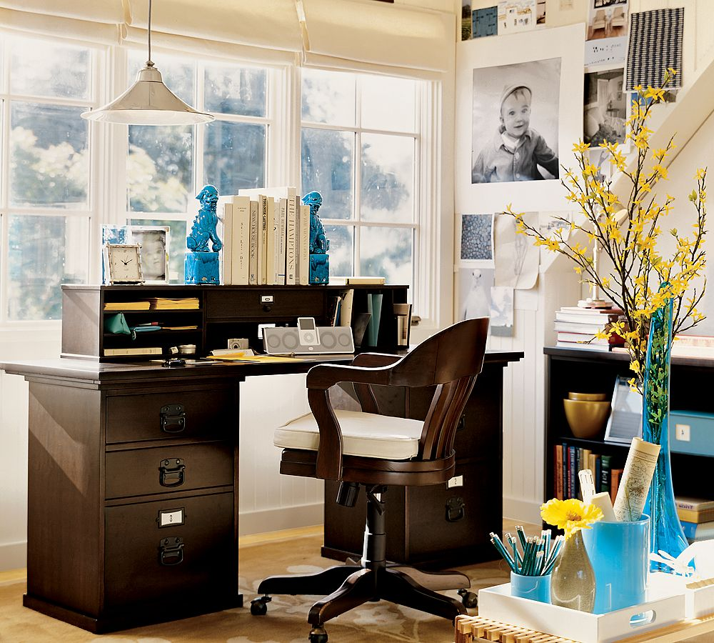 Home office and studio designs for Office decoration pics
