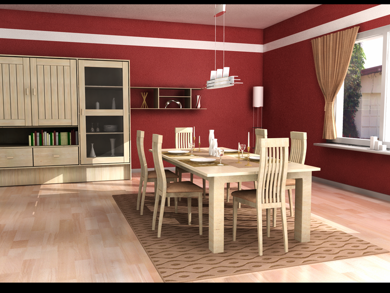Impressive Dining Room Design 800 x 600 · 2254 kB · png