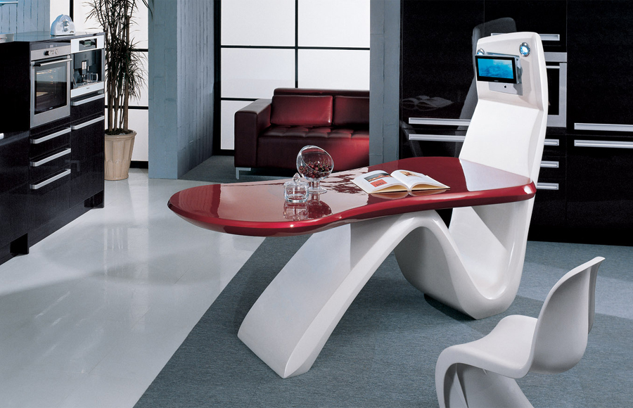 Kitchens of the future for Arredamento hi tech