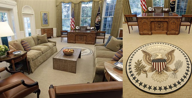 Obama Oval Office Interior Category Decoration