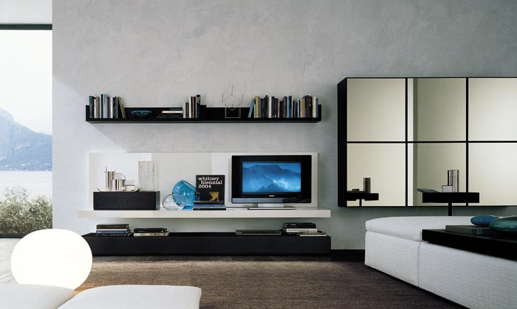 Modern wall units Interior design tv wall units