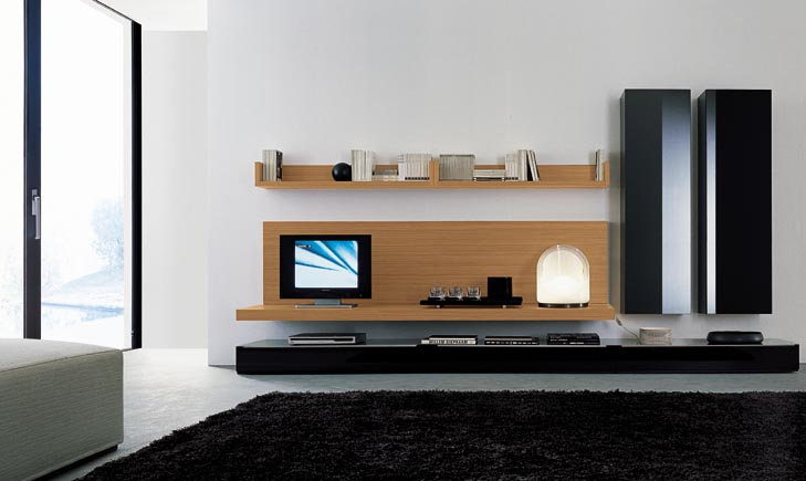 Modern wall units - Contemporary tv wall unit designs ...