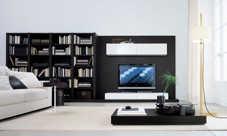Modern wall units for Modern tv unit design ideas