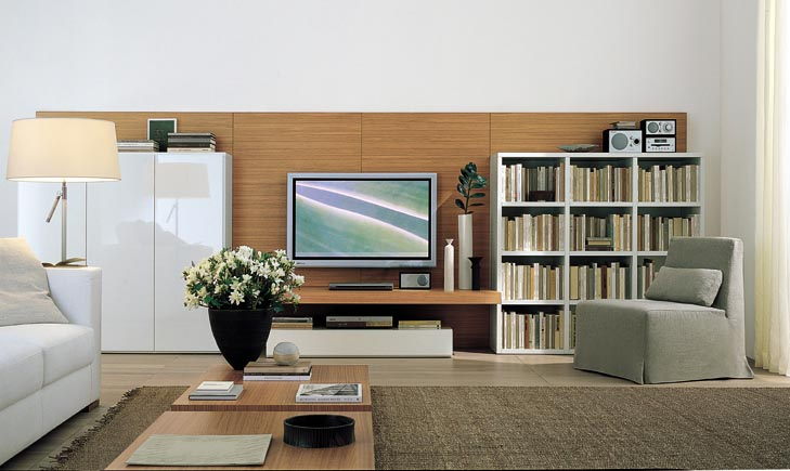 Modern wall units Wall units for living room design