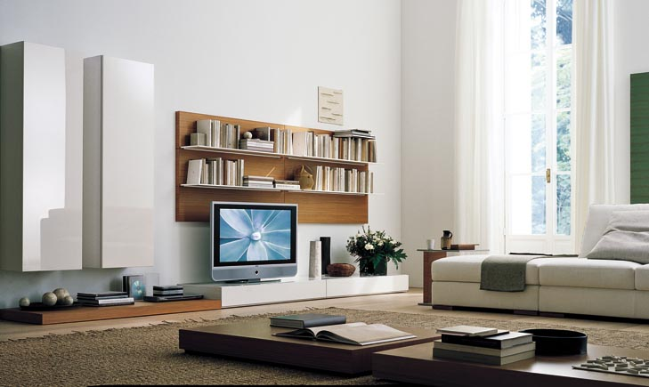Wall Units Design contemporary modular wall unit design ideas for living room furniture modus collection by presotto Wall Units Designs