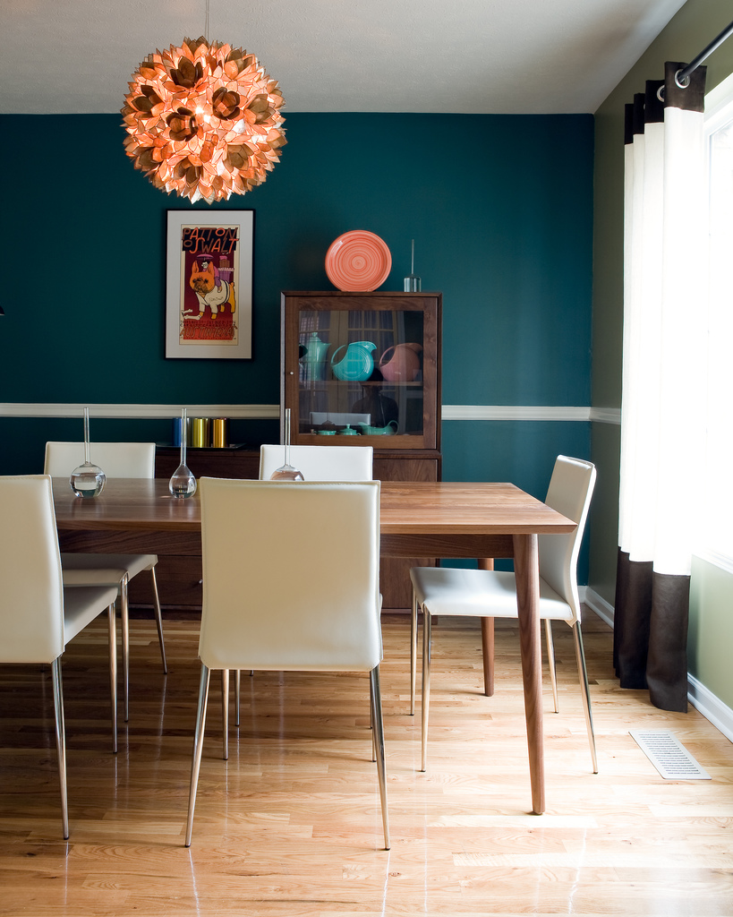 Dining room designs for Small contemporary dining room ideas